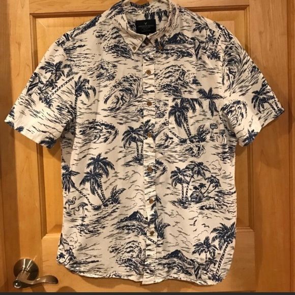 afd06b7a9644 American Eagle Outfitters Other - Men's American Eagle Hawaiian button down  shirt